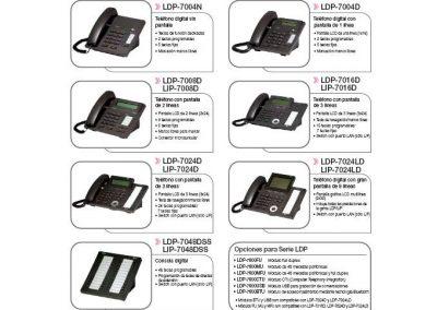 Teléfonos LDP-2